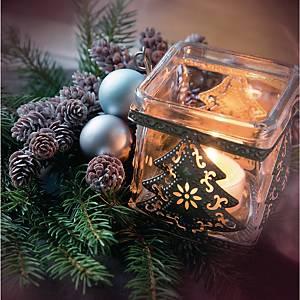 Weihnachtskarten Natur Verlag, 135x135 mm, 5 Motive