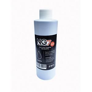 Bote de tinta para tampón - 250 ml - negro