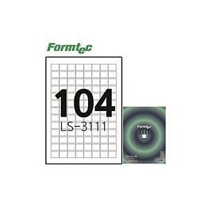 폼텍 LS-3111 분류표기용 라벨 100매 104칸