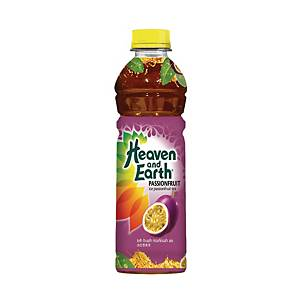 Heaven & Earth Ice Passion Fruit Tea 500ml - Pack of 12