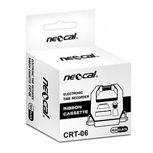 NEOCAL ผ้าหมึกเครื่องตอกบัตร รุ่น CRT 06