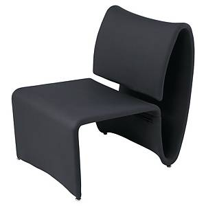 ALBA AERO SINGLE VISITOR CHAIR BLACK