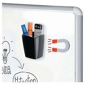 Cep Magnetic Pencil Cup For Whiteboard Black