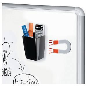 Pennställ till whiteboard Cep Gloss, magnetiskt, svart