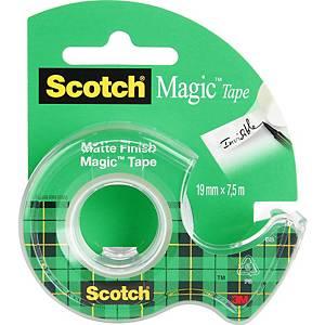 Scotch® Magic™ ragasztószalag, 19 mm × 7,5 m, 1 tekercs/adagoló