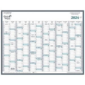 Quo Vadis Manager jaarplanner 53x40cm