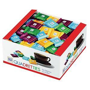 Chokolade Rittersport Mix, 5 g, pakke a 200 stk.