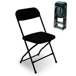 Medina Folding Chair, black