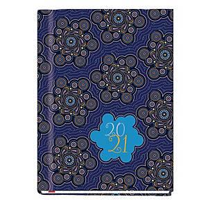 Kalendarz MICHALCZYK & PROKOP Marta B6, tygodniowy, biały w maki