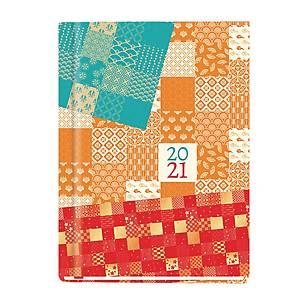 Kalendarz MICHALCZYK & PROKOP Marta B6, tygodniowy, granatowy z lisem