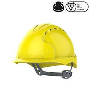 JSP Evo 2 S/ Helmet W/Slip Ratchet Yllw