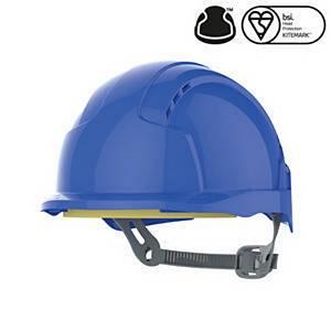 JSP Evolite S/Helmet Slip Ratchet Blue