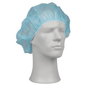 Operationshue Abena, onesize, 53 cm, blå, pakke a 100 stk.
