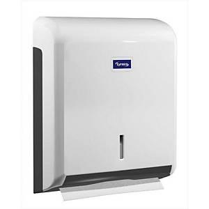 Lyreco handdoekdispenser, wit, per stuk