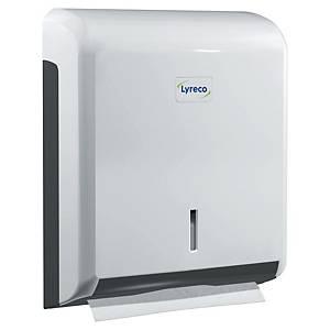 Distributeur d essuie-mains pliés Lyreco - blanc