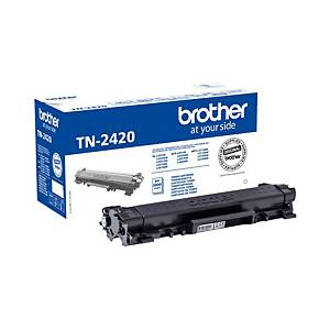 Cartouche toner Brother TN-2420, noire, haute capacité