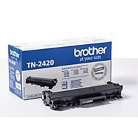 Lasertoner Brother TN2420, 3.000 sider, sort