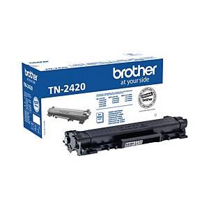 Toner Brother TN-2420, Reichweite: 3.000 Seiten, schwarz