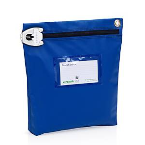 Versapak Tamper Evident Secure Cash Bag For Cash & Coins