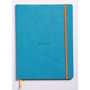 Rhodia Soft Cover Notebook 190x250mm Turqouise