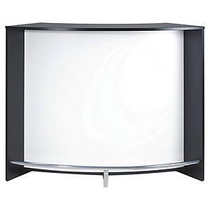 Bar courbé Simmob - L 135 cm - noir