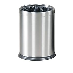 Rubbermaid Hide-A-Bag Bin Stainless Steel 13.2L