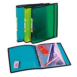 Carpeta Carchivo - folio - 4 anillas - lomo 25 mm - verde