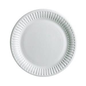 PK100  HUHTAMAKI PLATE 15CM WHITE