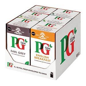 PG Tips Fruit Tea Variety Pack - Pack of 6