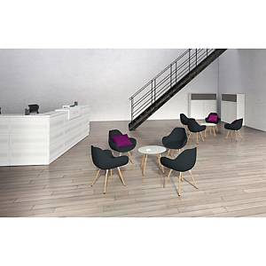 Bip Bop reception chair grey
