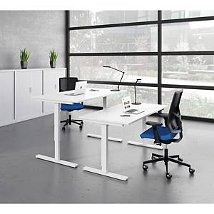 Eol Essentiel Up bureau,met hoogteregeling, L 180 x D 80 cm, wit