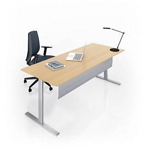 Eol Essentiel I bureau, met hoogteregeling, L 160 x D 80 cm, eiken blad