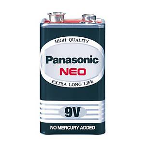 PANASONIC Neo 6F22Nt/1Sl Carbon Zinc Battery 9V