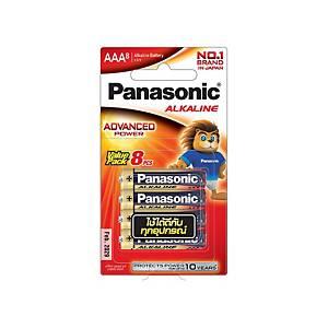 PANASONIC Lr03T/8B AAA Alkaline Battery Pack Of 8