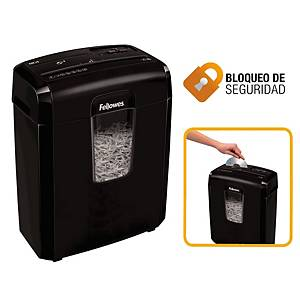 Destructora Fellowes 8CD - corte en partículas DIN P-4