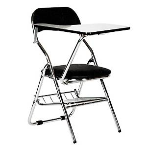 APEX AVC-832 Lecture Chair Black Foldable