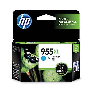 HP 955XL L0S63AA Inkjet Cartridge- Cyan