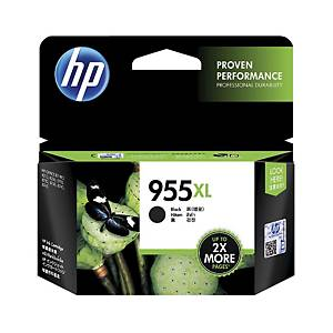 HP 955XL L0S72AA Inkjet Cartridge- Black