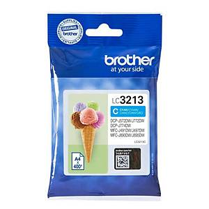 Brother LC3213C inkt cartridge, cyaan