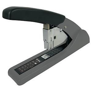 Heftapparat Lyreco HD100, Blockhefter, Heftkapazität 100 Blatt, grau