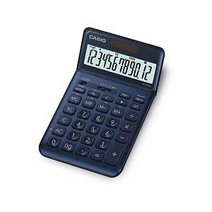 Casio JW-200SC Tischrechner, 12-stelliges Display, dunkelblau