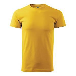 Koszulka MALFINI Basic 129, Rozmiar m,  żółta