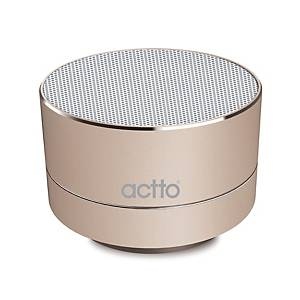 ACCTO BTS-08 VIVE BLUTOOTH SPEAKER GOLD