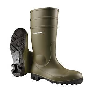 Botas de agua Dunlop Protomastor 142VP S5 - verde - talla 43