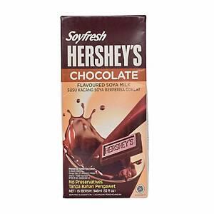 Hershey Soyfresh Chocolate Soy Milk 1l