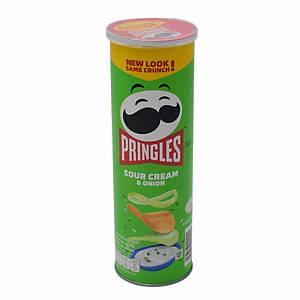 Pringles Sour Cream Potato Chip 107g