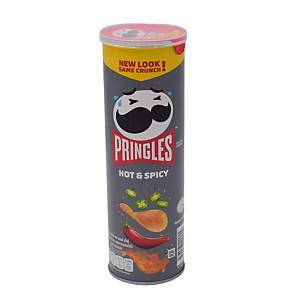 Pringles Hot & Spicy Potato Chip 107g