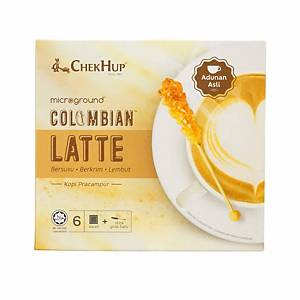 Chek Hup 2 in 1 Colombian Latte 28g - Pack of 6