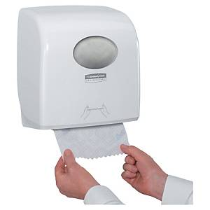 Kimberly-Clark Aquarius Slimroll rolhanddoekdispenser, wit, per stuk