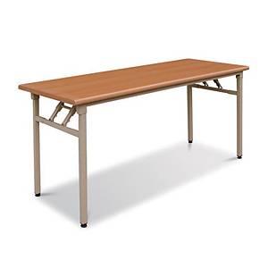 FIRST F18 FOLDING TABLE 1800 ORANGE